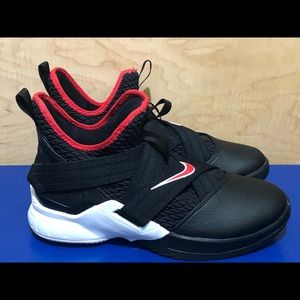 NEW Nike Lebron Soldier 12 'Bred'